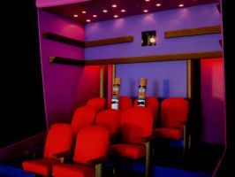 Two Fags at the Flicks by Keith-McGuckin