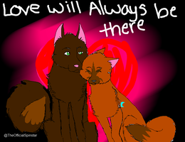 Love Will Always Be There-Ankara and Vinny- by spinstarxxx