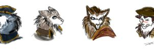 Templars Wolves by NienorGreenfield
