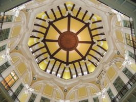 Tokyo Trainstation Ceiling by thecomingwinter