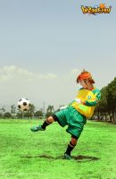 Inazuma Eleven Cosplay - Kick the ball by darknaito
