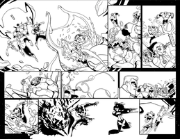 Green Lantern TAS 4 Pages 2and3 by LucianoVecchio