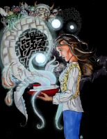 path to the labyrinth by Mad-Hattie