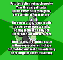 My Little Poetry: Gummy by snakeman1992
