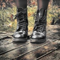 Black Boots by Pajunen