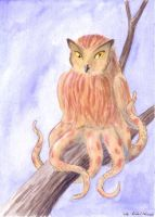 Striped Owltopus by ankewehner