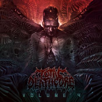 Total Deathcore Vol 4 Cover art Contest Submission by Sarafinconcepts