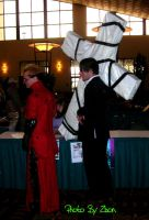 Vash and Wolfwood by Zhon