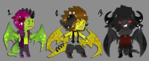 Dragon doods batch 2 :: ONLY 1 OPEN by HastyLion