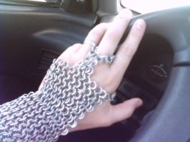 Chainmail Glove by kamiiyu
