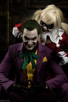 DC - Joker and Harley by MilliganVick