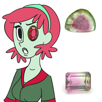 Tourmaline - Character Info by ExoticParadox
