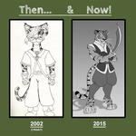 Then and Now... by Little-Katydid