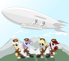 Equestria Southern Air Welcomes you on Board by CrimsonLynx97