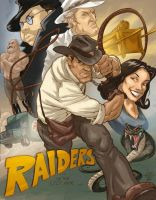 Raiders of the Lost ark by jeffzombie37