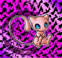 Mew BG by water16dragon