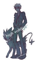 high voltage by arcuate