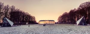 Frederiksberg Palace Panorama 2 by MartinSar