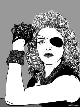 Madonna by ReiRaven