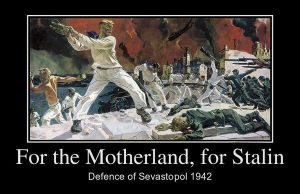 For the Motherland, for Stalin by Ferrabra