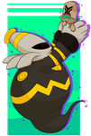 Dusknoir and Beheeyem by Nukeleer