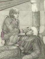 Illo #6 from a long-forgotten SW fanstory by plushbug