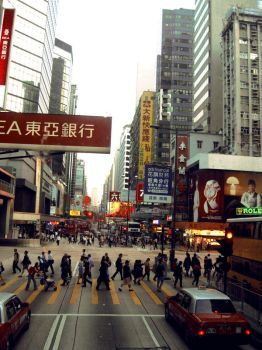 hustle and bustle by myseethroughmind