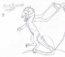 Arcon of the Ancients - Sketch by FireDragon97