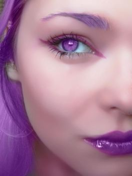 Purple Passion by AngelRachelle