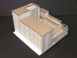 Baltimore Housing - Model South Aerial View by Nayias01