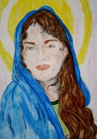 Blessed Virgin Mary by Tricia-Danby