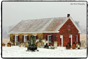 Snowy Mennonite Cemetery by GlassHouse-1