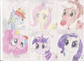 The Ponies of Harmony by Agent-Cynda