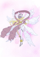 Angewomon by TinySkye