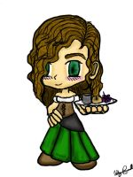 Chibi Tavern Wench by FoxTrotProducts