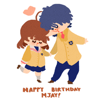 Happy Birthday Mjay!~ by sapphii