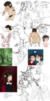 WHY DO I HAVE SO MANY UNFINISHED DRAWINGS by MagicMooseofDoom