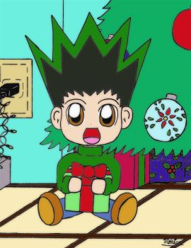 Gon's Xmas by Wolf-Grr