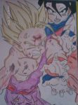 gohan and goku by Dragonball-Z-Fans