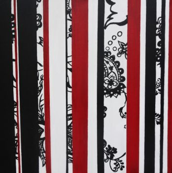 What's black, white and red? by larrielou