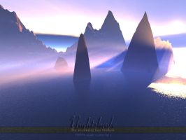 Terragen - Nightshade Four by tigaer