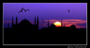 istanbul sunset by bayugly