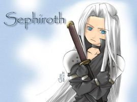 SD Sephiroth and Masamune by glen1174