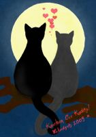 cats postcard by CargoDesign