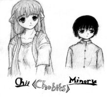 Chobits: Chii and Minoru by Lulie