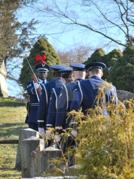 Air Force Funeral at Sleepy Hollow Cemetery 04 by BellonaRose