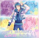 -- DMMD: Happy Birthday Aoba 2015 ! -- by Kurama-chan