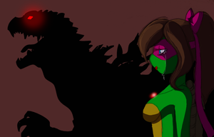 An-tusy daughter of Godzilla by Dr-Innocentchild