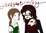 Happy Birthday xmadame-macabrex (2015) by silverfangirl14