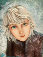 Jack Frost gender bender by Mariana-S